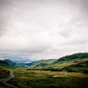 Road into the Highlands