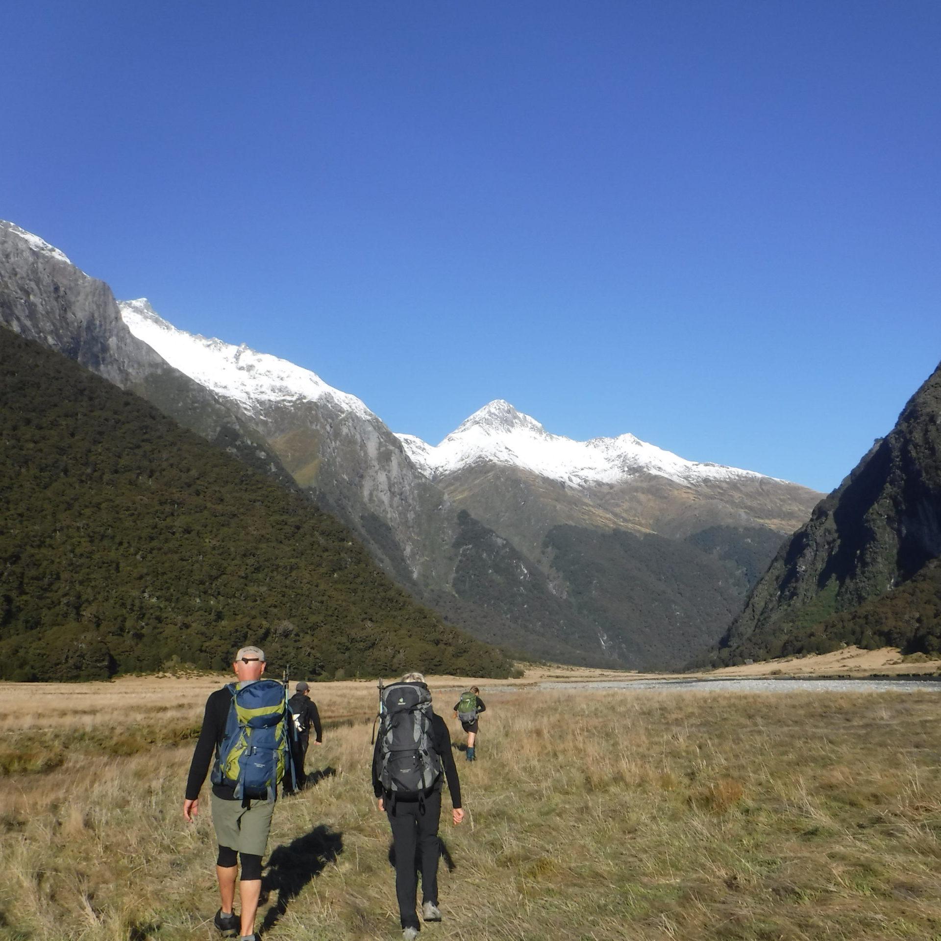 Siberia valley - Walking in Wanaka